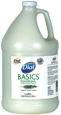 DIL Dial Basics Hypoallergenic Soap 1 Gallon