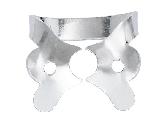 HYG Hygenic Gloss Finish Winged Rubber Dam Clamp #1 Ea