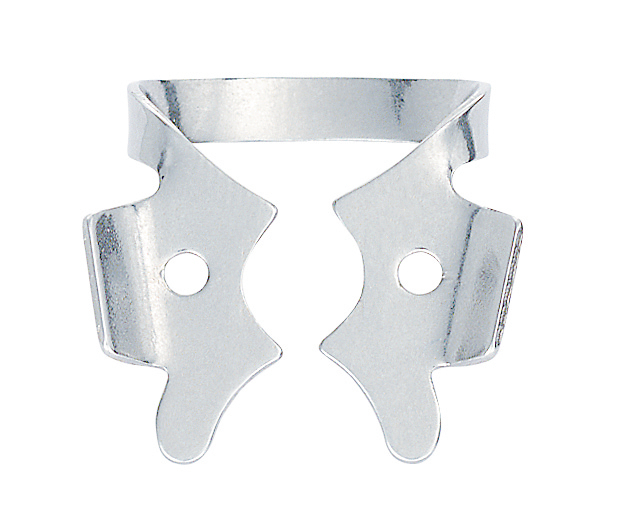 HYG Hygenic Gloss Finish Winged Rubber Dam Clamp #3 Ea