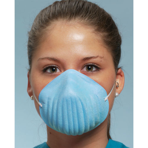 DFD Form-Fit Facemask Blue Bx/50 Level 1